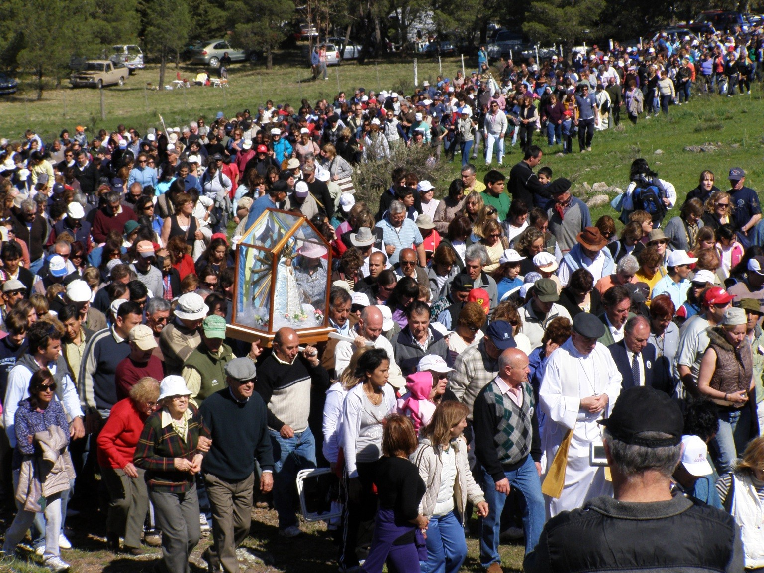 Saavedra – Llega una fecha esperada, la peregrinación anual a la Ermita