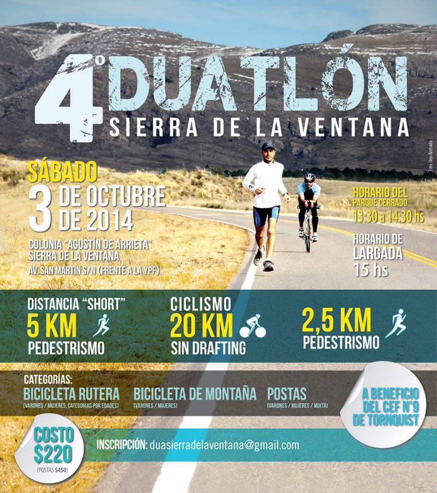 Sierra de la Ventana – 3 de Octubre, una fecha clave para los deportistas