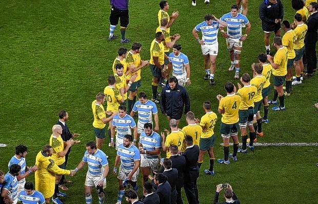 """Mundial de Rugby – Hourcade """"Pelearon hasta el final; tengo el corazón lleno"""""""