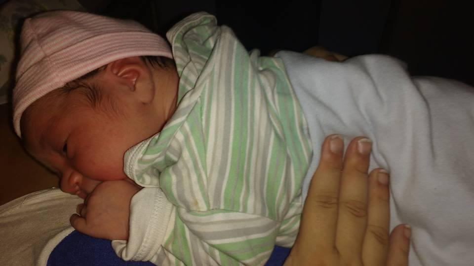 Tornquist – El primer bebé nacido en el 2016 es de Saldungaray !