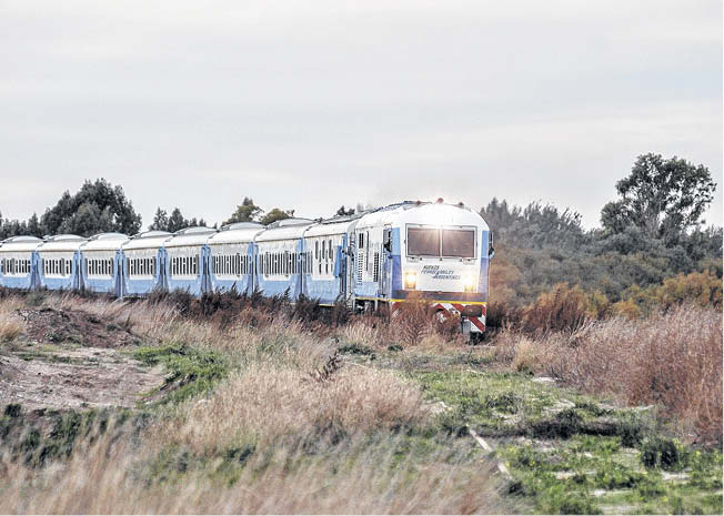 Acto del «Día del Ferroviario», contra el cierre de Ferrobaires