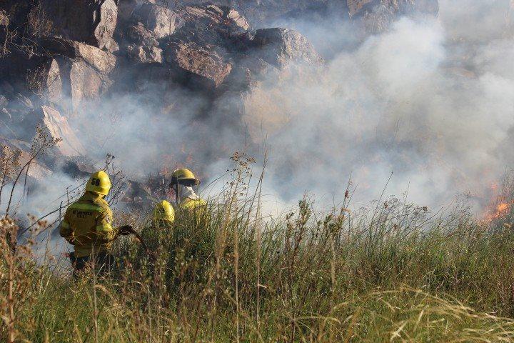 Incendios – Al mediodía se conocerá el daño real del fuego en las sierras