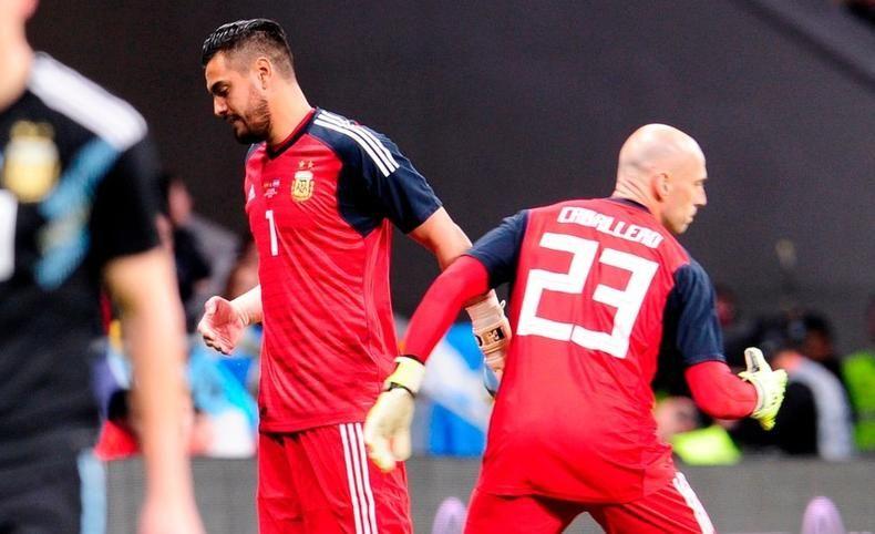 El arquero Sergio Romero se pierde el Mundial y lo reemplazará Guzmán