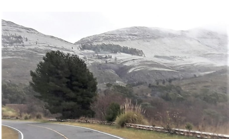 Primeras apariciones de la nieve, de cara al receso invernal