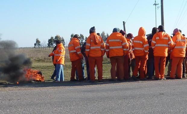 Ruta 33 – Hubo acuerdo entre la UOCRA y la firma que está realizando el ensanche de la carretera