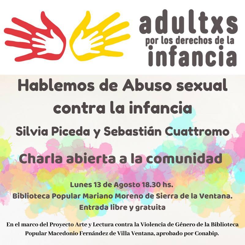 Sierra de la Ventana – «Hablemos de Abuso Sexual contra la Infancia»