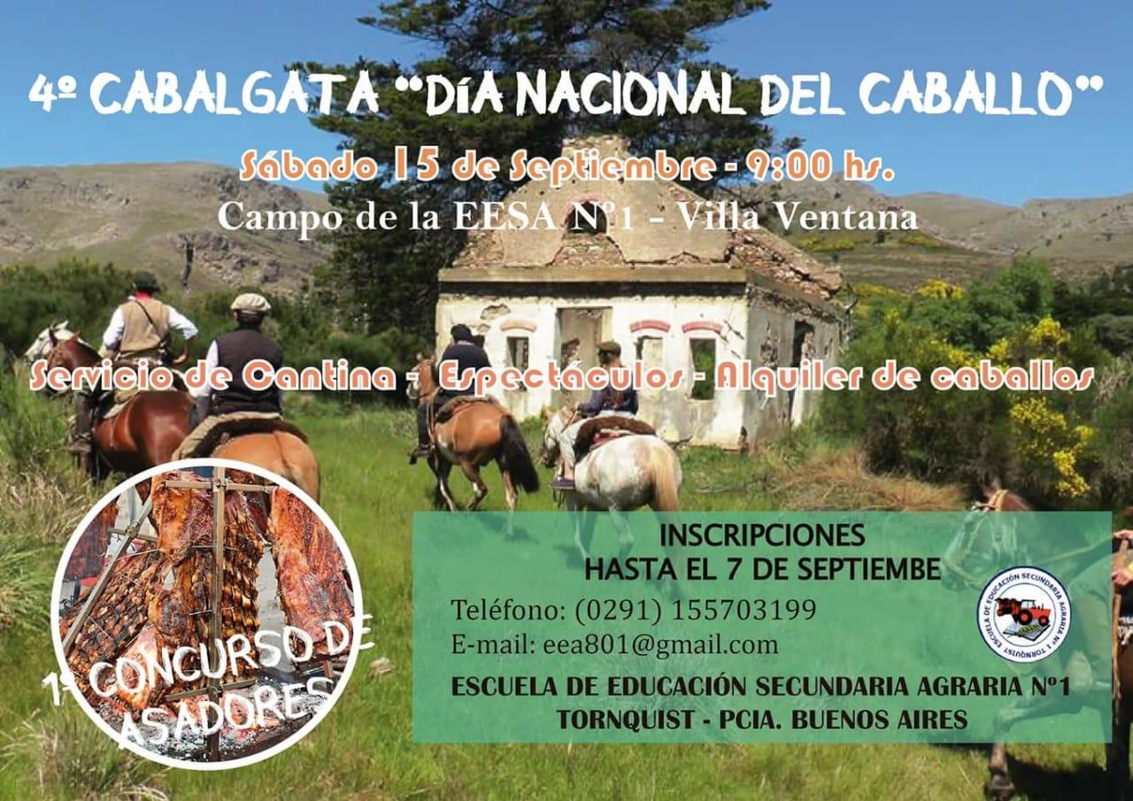 """4º cabalgata por el """"Día Nacional del Caballo"""" y el «1º Concurso de Asadores»"""