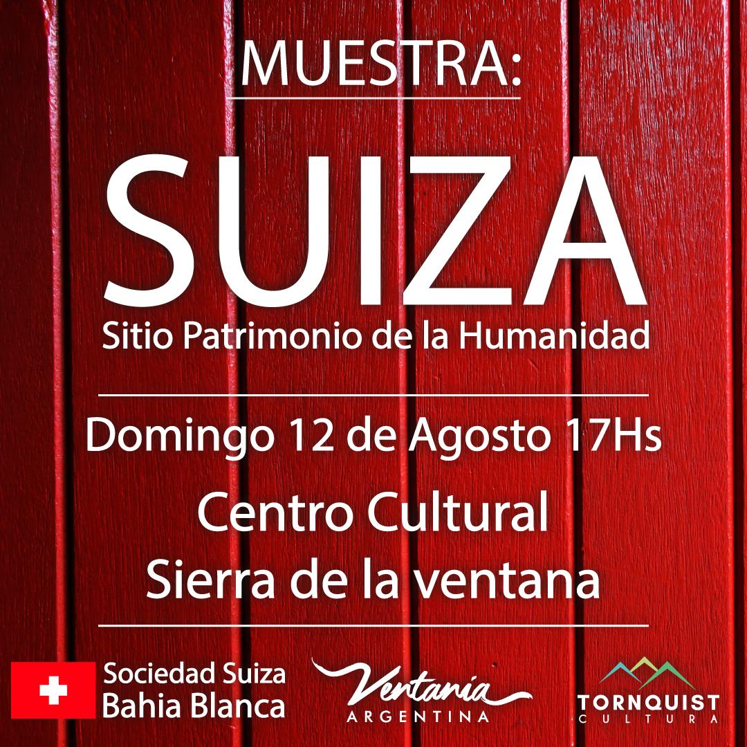 """""""Suiza, sitio patrimonio de la humanidad"""" la propuesta del Centro Cultural"""
