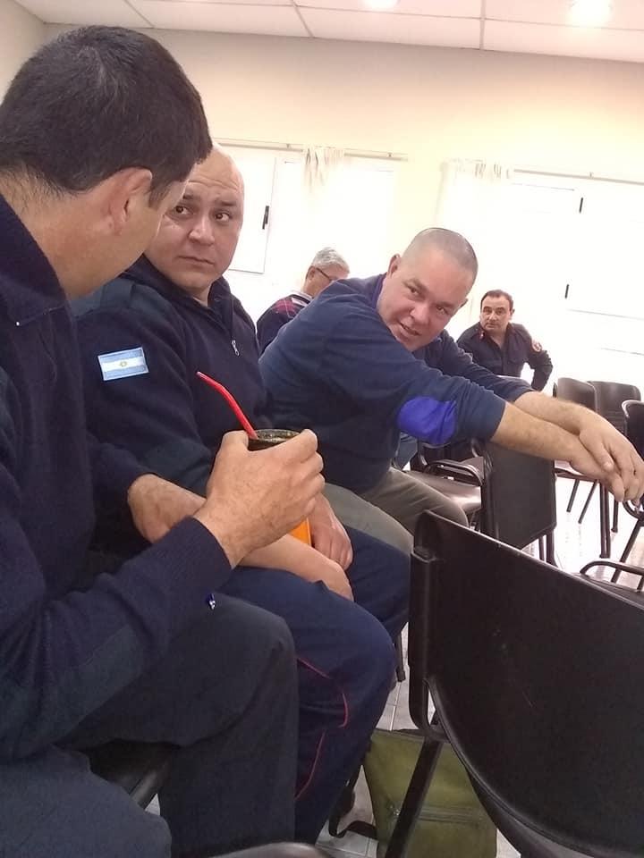 Pigüé – Los Bomberos de Saldungaray participaron de una reunión regional