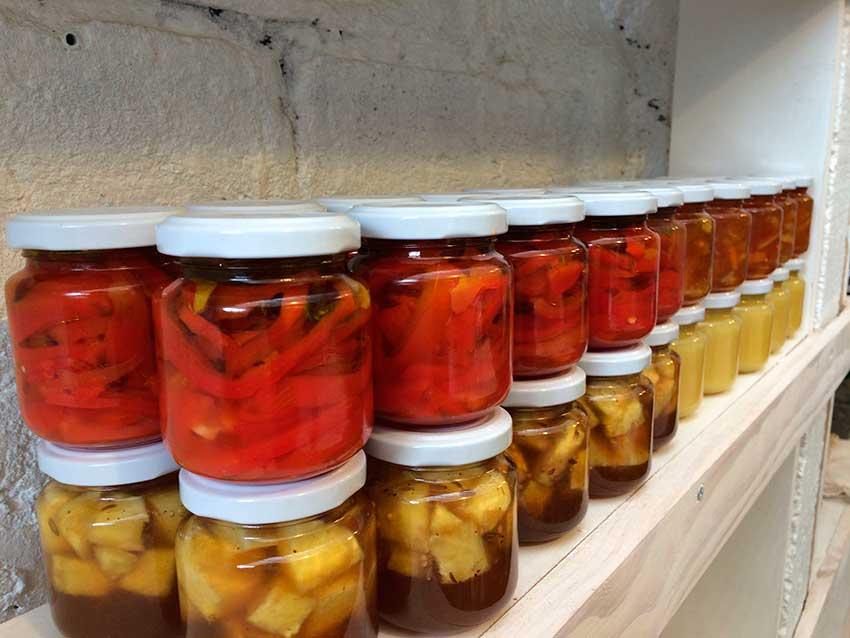 Tres Picos – Curso de Producción de Conservas Dulces y Saladas