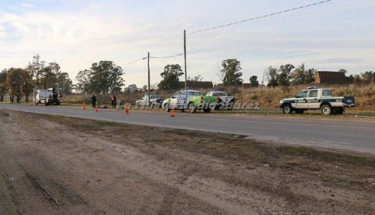 Coronel Suárez – Una ciclista murió tras ser atropellada por un camión grúa