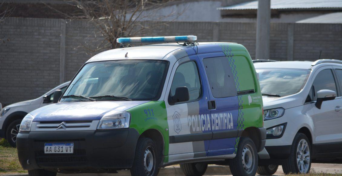 Tornquist – Parte de prensa policial sobre el hallazgo de restos humanos
