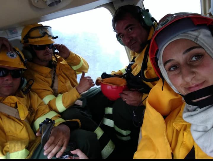 Incendio: Ayer se dió por extinguido el fuego en las sierras