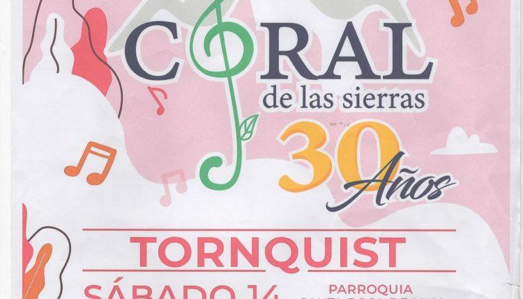 Tornquist – El Coral de las Sierras cierra su año con un concierto