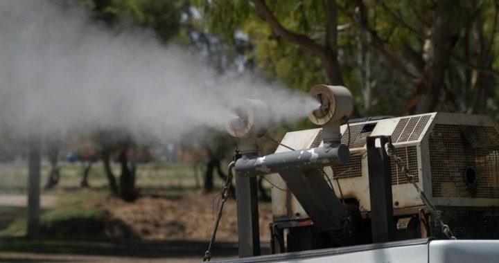 Se realizaran tareas de fumigación en Tornquist