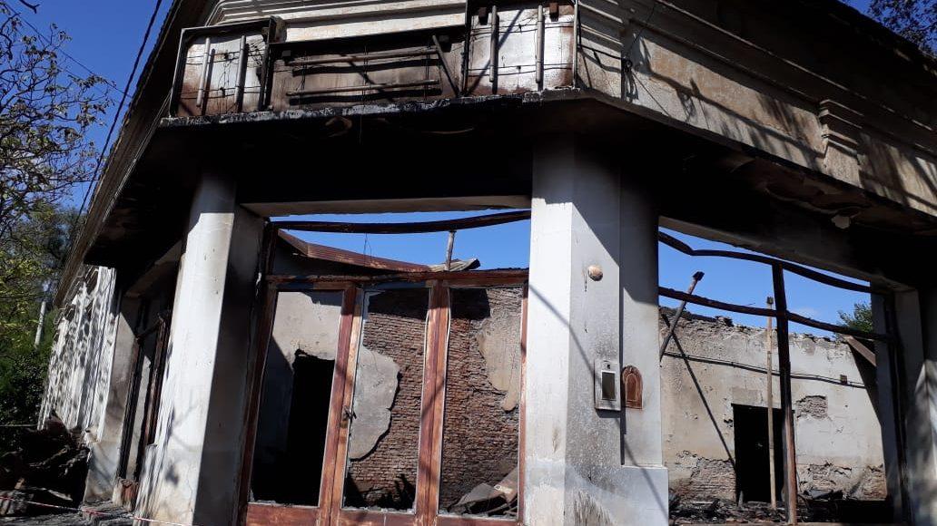 Saldungaray – Fue total la pérdida del local que se incendió esta madrugada