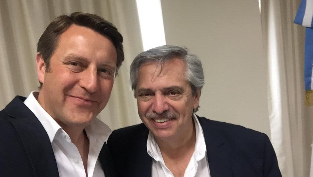 El PJ local felicita a su referente político Gustavo Trankels