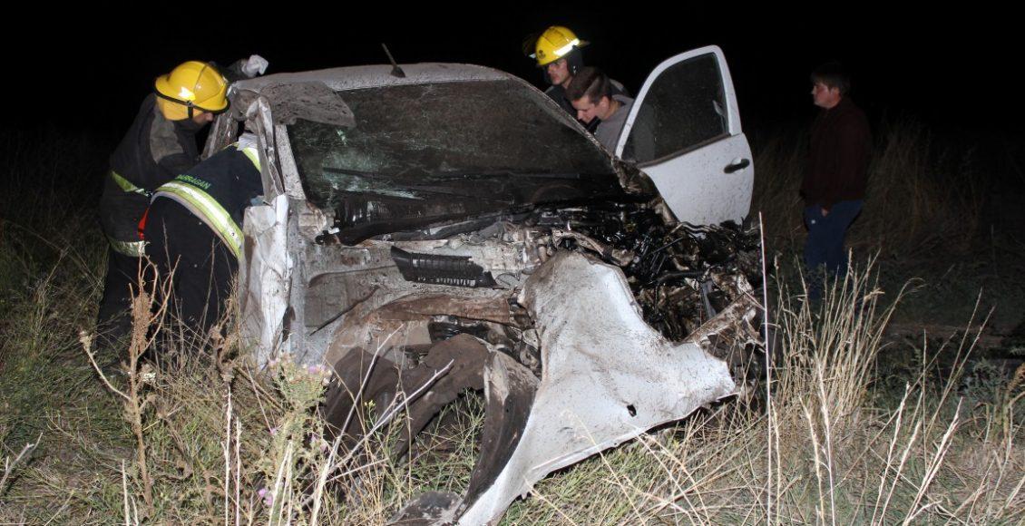 Ruta 76 – Accidente vehicular sin heridos en el camino a «Parque Norte»