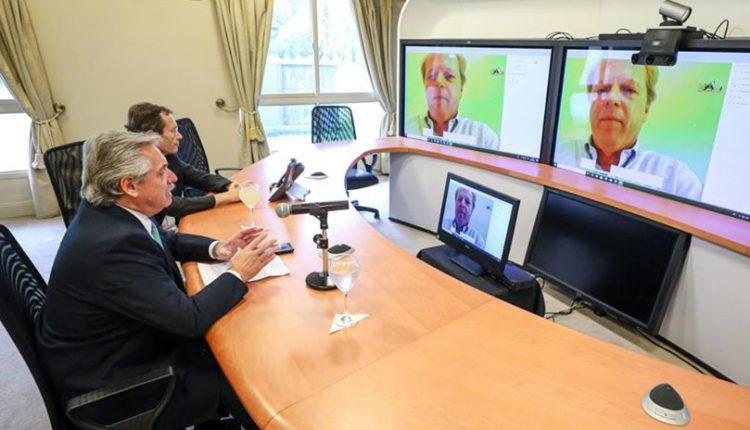 El Presidente Fernández recibió el apoyo del Banco Mundial