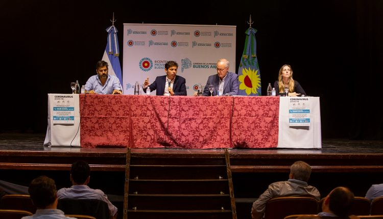 """Kicillof con Intendentes: """"Tenemos que dar el ejemplo de solidaridad y responsabilidad"""""""