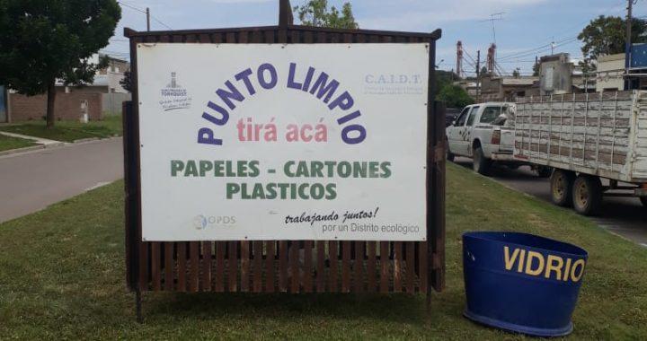 Desde el Municipio insisten en no sacar los residuos destinados a los puntos limpios