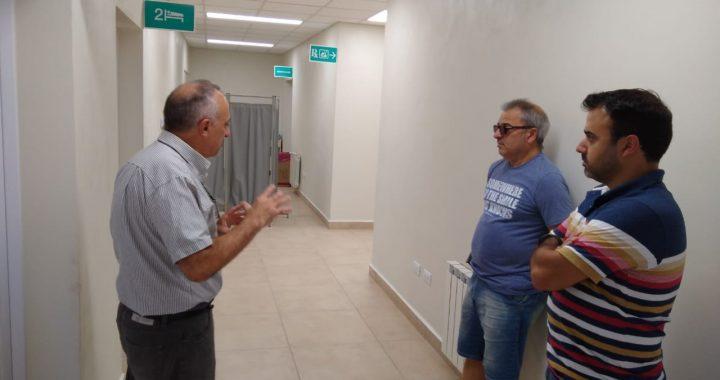El Intendente Bordoni recorrió las salas médicas y controles policiales