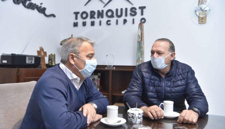 Bordoni recibió al Ministro de Seguridad de la Provincia