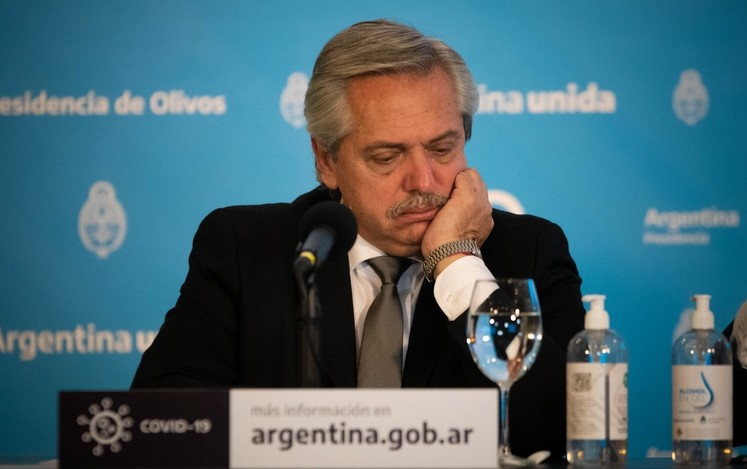 Coronavirus – El Presidente Alberto Fernández desarrollará sus tareas habituales desde la residencia de Olivos