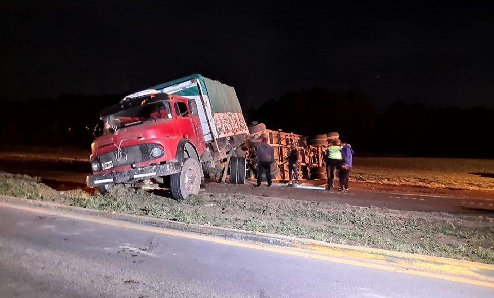Tornquist – Accidente sin lesionados en la ruta nacional 33