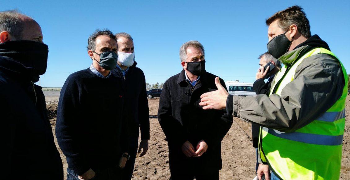 Bahía Blanca – Trankels recorrió junto al Ministro Katopodis, obras que ejecuta Vialidad Distrito 19