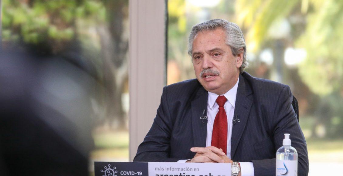Alberto Fernández: «A la Argentina le fue mejor con el coronavirus que con el gobierno de Macri»