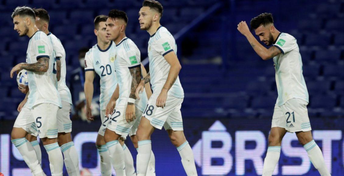 Con Lautaro Martínez, Argentina cierra el año ante Perú