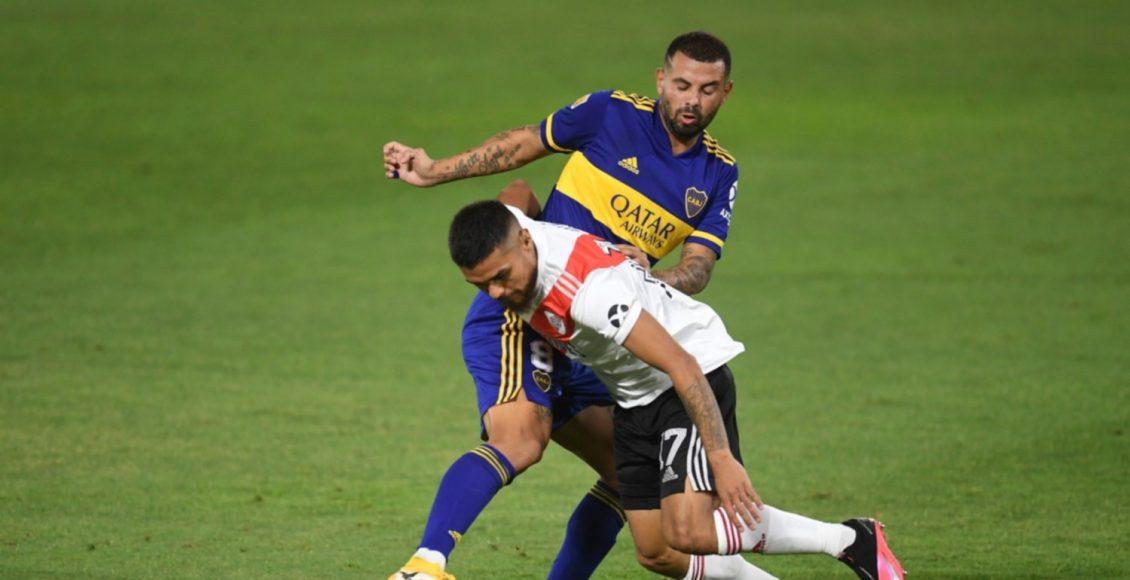 Con un segundo tiempo emotivo, Boca y River empataron 2 a 2 en el Superclásico