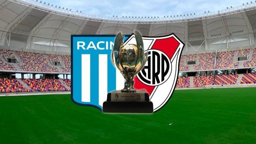 River-Racing – Ya hay fecha confirmada para la final de la Supercopa Argentina