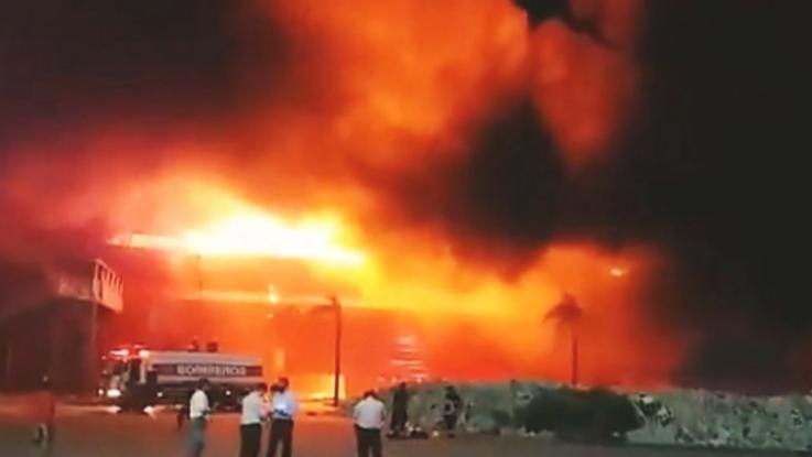 Un incendio arrasó con el Autódromo de Termas de Río Hondo