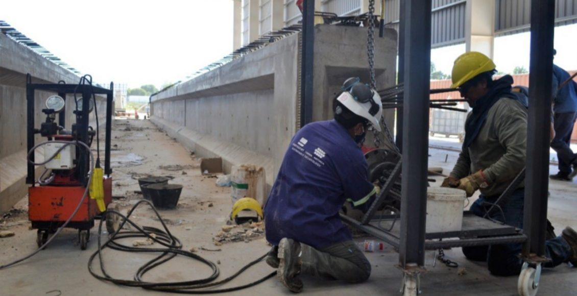 Continúan los trabajos en la autopista sobre la Ruta Nacional N° 33, entre Bahía y Tornquist