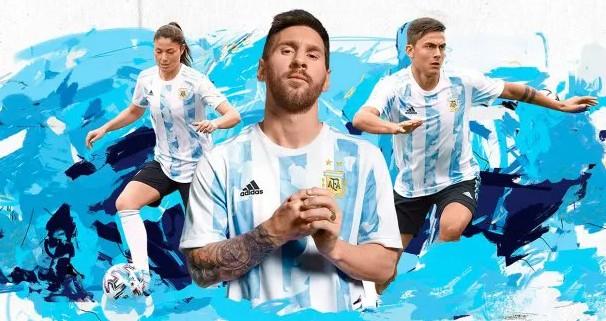 La Selección Argentina lanzó su nueva camiseta 2021: ¿cuánto cuesta?