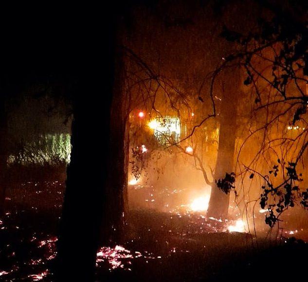 Saldungaray – Incendio en «Los Montañeses»