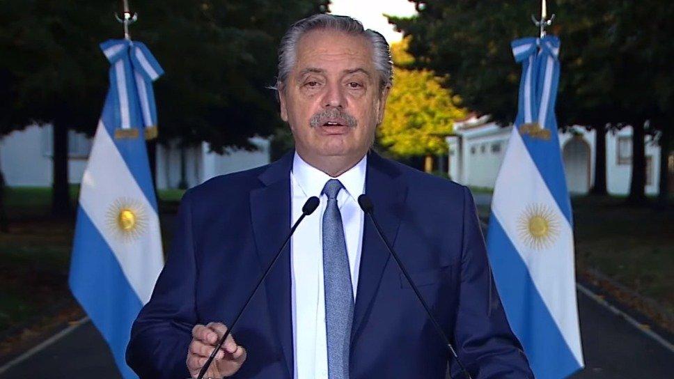 Alberto Fernández – Por tres semanas no se podrá circular de 0 a 6