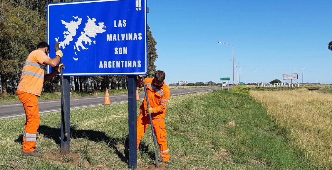 2 de Abril – Nuevas señales conmemorativas al «Día del Veterano y los Caídos» en Malvinas