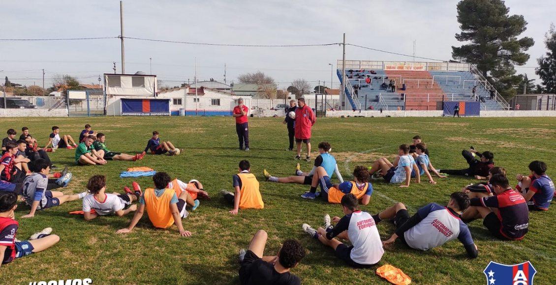 Argentinos realizó su jornada de captación en Automoto