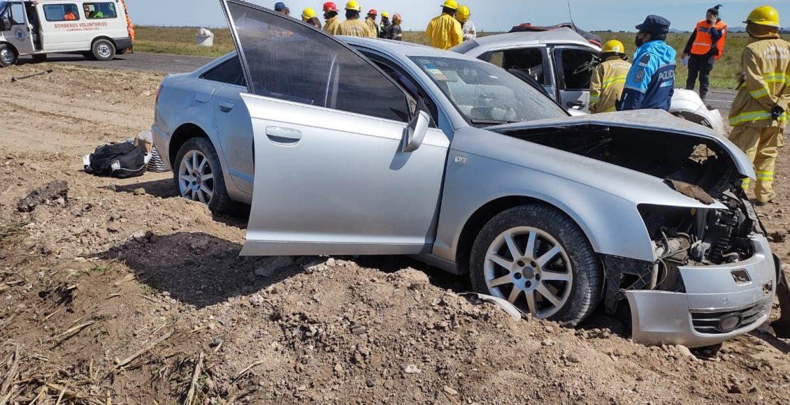 Ruta 51 – Tragedia por un choque frontal, un fallecido bahiense