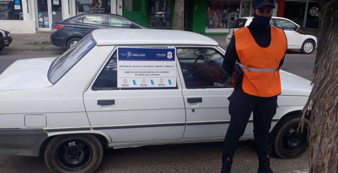 Bahia Blanca – Circulaba a bordo de un rodado robado en Villa Ventana