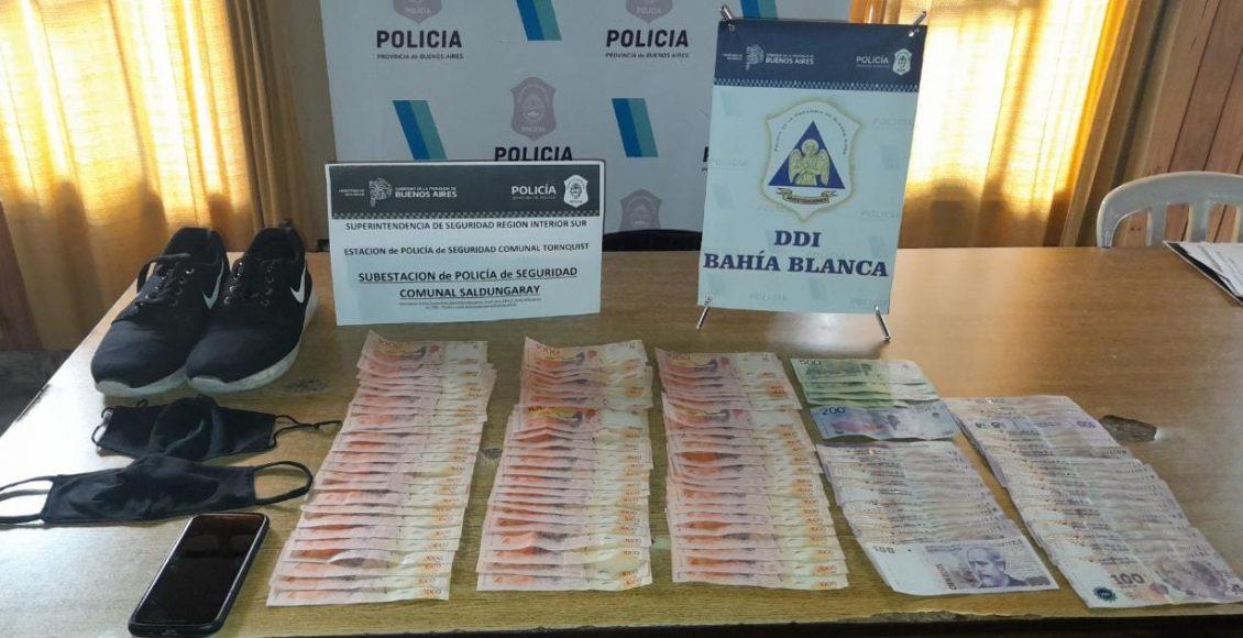Saldungaray – Se logró la detención del ladrón que robó dinero en la Delegación Municipal