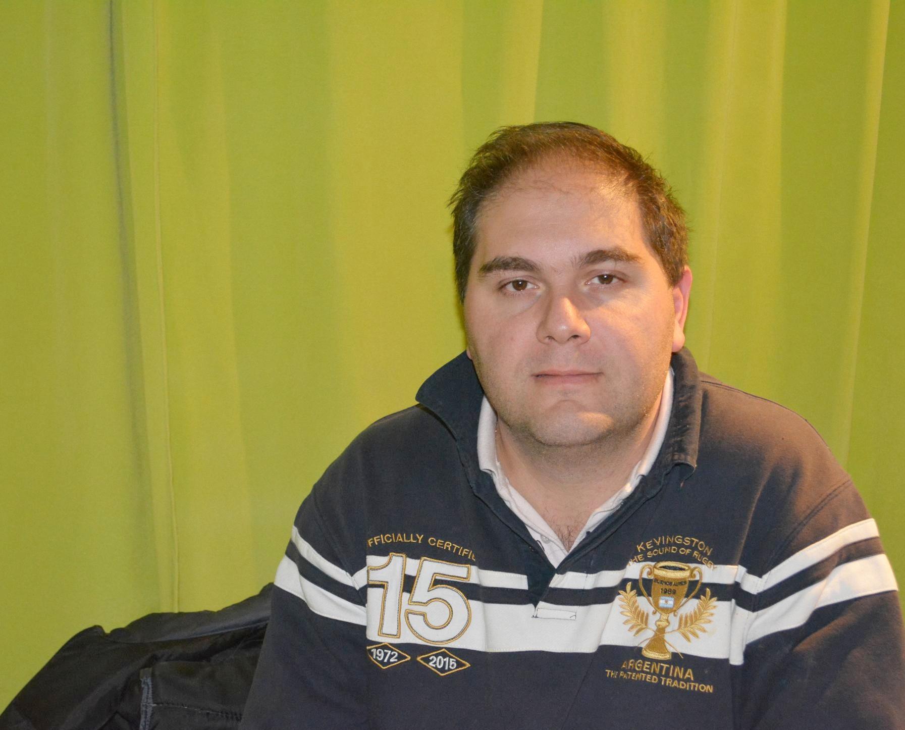 Tornquist – Víctor Antón asumió como Director de Producción