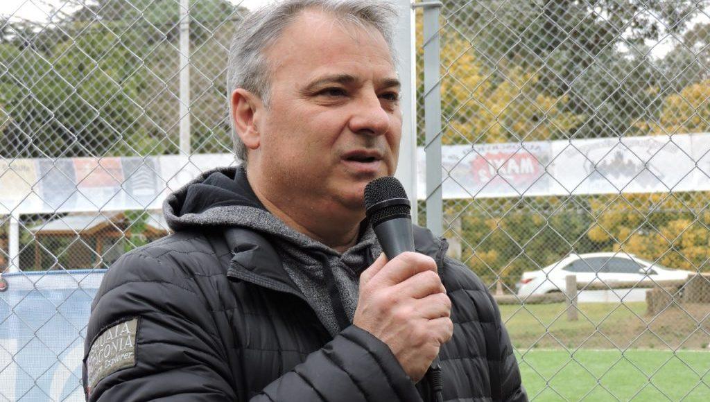 Villa Ventana – Bordoni participó de la inauguración de la cancha de fútbol 5