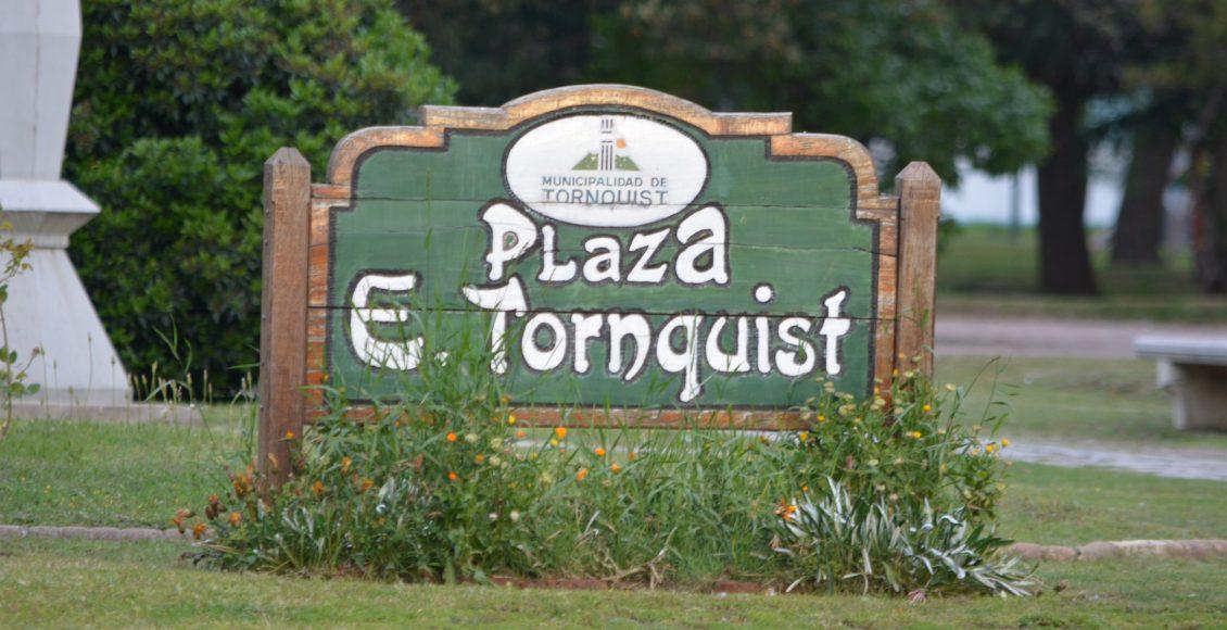 Tornquist – Hechos vandálicos en la plaza local