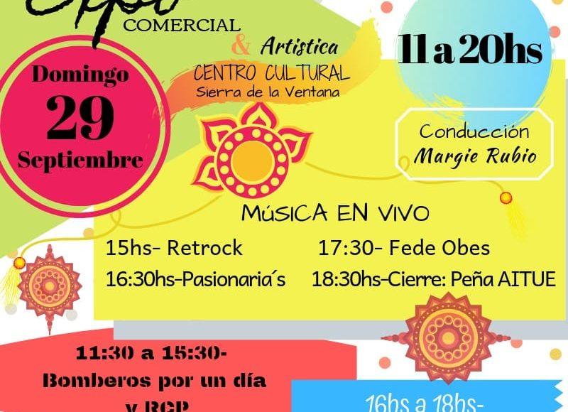 Sierra de la Ventana – Llega la 5ta Expo-Comercial y Artística de Camcotisas