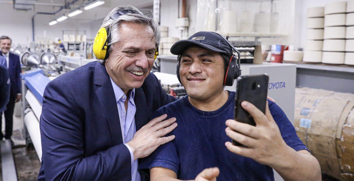 Alberto Fernández – «Vamos a hacer lo que haga falta para que en la Argentina se produzca, se dé trabajo y se venda»