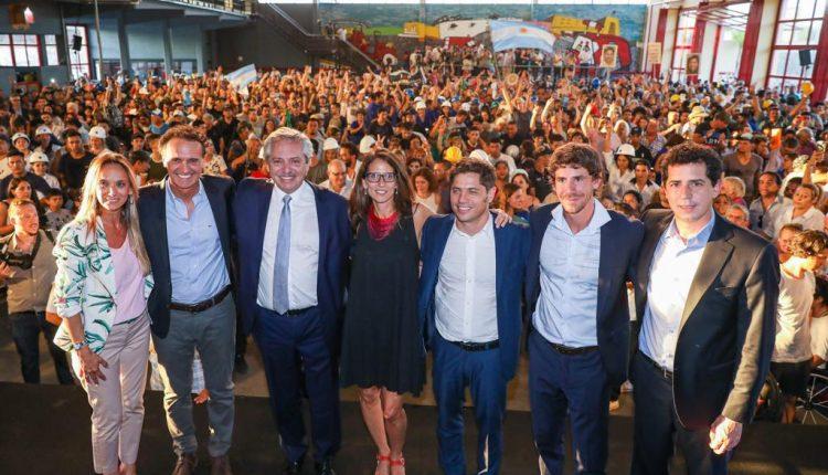 Alberto Fernández puso en marcha el plan «Argentina Hace»